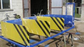 Pjuvenų presavimo ir pakavimo įrenginys