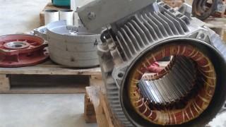 Remontuojamas variklis